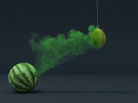 2, Pat Flynn, Melon Smoke Anim, 2013